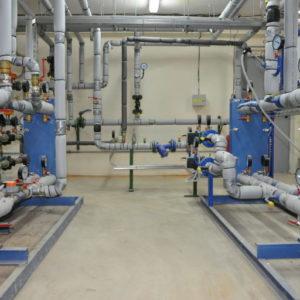 Место проведения работ по монтажу Теплового пункта ИТП