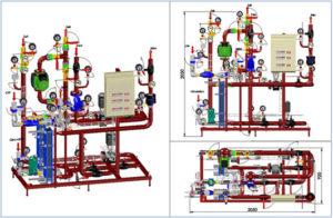 Проект ИТП, модульный тепловой пункт